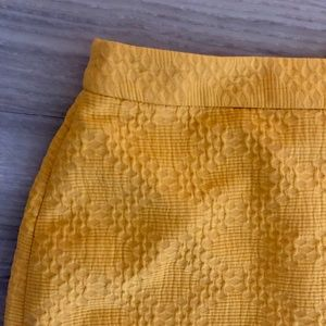 NWT BR Pencil Skirt - Mustard